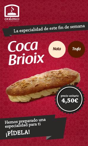 Coca de Montserrat del forn de pa Valero